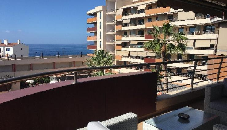 Beautiful apartment in Los Gigantes with sea views for rent - 700 euros
